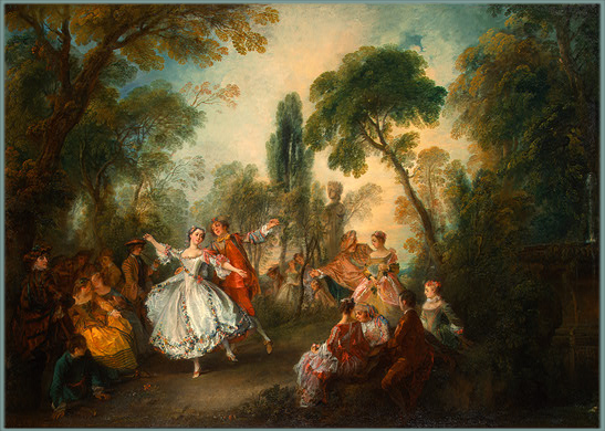Nicola Lancret, La Camargo Dancing, 1730 circa, Pittsburgh,Andrew W. Mellon Collection
