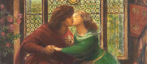 Paolo e Francesca Dante Gabriel Rossetti
