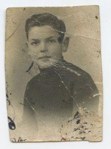 Giuseppe Mazzola nel 1933, a 8 anni