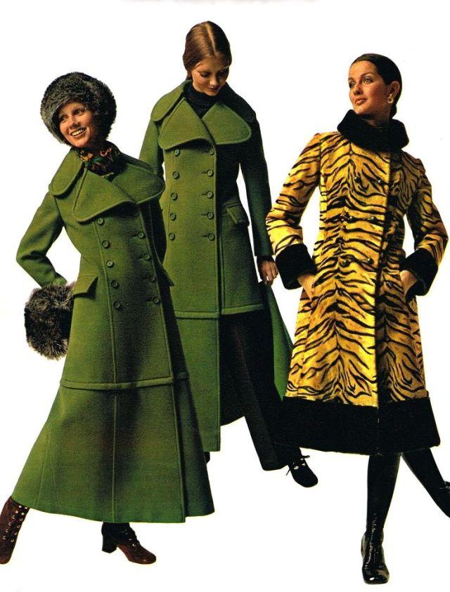 1970 Maxi coats