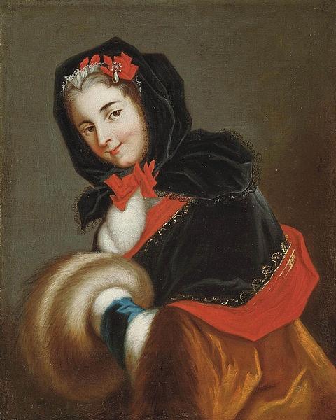 Portrait of Louise Henriette de Bourbon, Duchesse de Chartres and Duchesse d'Orléans (1726-1759)
