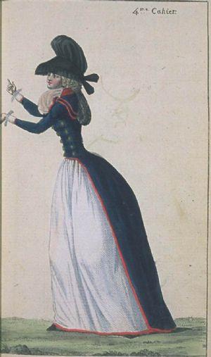 Redingote 1790